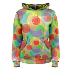 Colorful circles Women s Pullover Hoodie