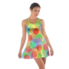 Colorful circles Racerback Dresses