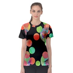 Colorful circles Women s Sport Mesh Tee