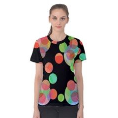 Colorful circles Women s Cotton Tee