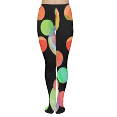 Colorful circles Women s Tights