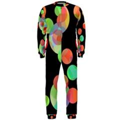Colorful circles OnePiece Jumpsuit (Men)