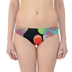 Colorful circles Hipster Bikini Bottoms