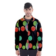 Colorful circles Wind Breaker (Men)