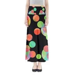 Colorful circles Maxi Skirts
