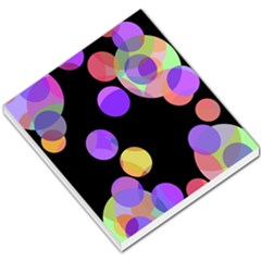 Colorful decorative circles Small Memo Pads