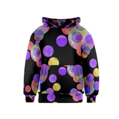 Colorful decorative circles Kids  Pullover Hoodie