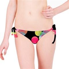 Colorful decorative circles Bikini Bottom