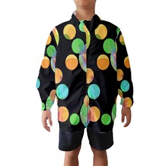 Orange circles Wind Breaker (Kids)