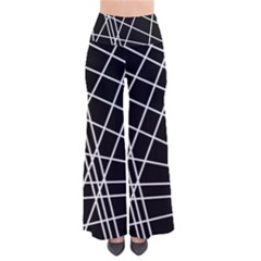 Black and white simple design Pants