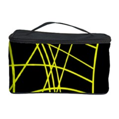 Yellow abstraction Cosmetic Storage Case