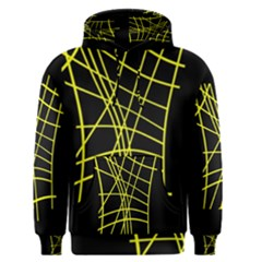 Yellow abstraction Men s Pullover Hoodie