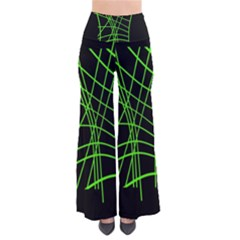 Green Neon Abstraction Pants