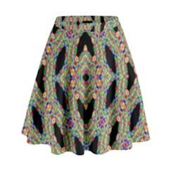 Time Sphere High Waist Skirt