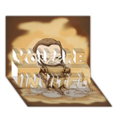 Scourge of Carpathia YOU ARE INVITED 3D Greeting Card (7x5)