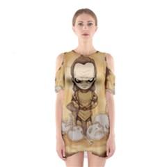 Scourge of Carpathia Cutout Shoulder Dress