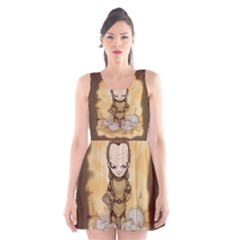 Scourge Of Carpathia Scoop Neck Skater Dress