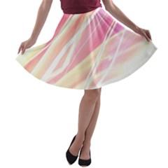 Light Fun A Line Skater Skirt