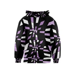 Purple abstraction Kids  Pullover Hoodie