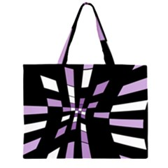 Purple abstraction Large Tote Bag