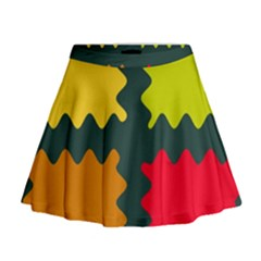 4 shapes                                                                                   Mini Flare Skirt