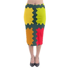 4 Shapes                                                                                   Midi Pencil Skirt