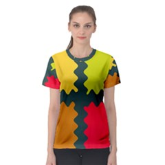 4 shapes                                                                                 Women s Sport Mesh Tee