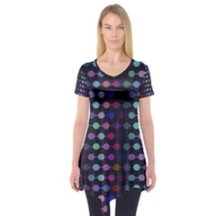 Connected dots              Short Sleeve Tunic