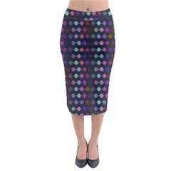 Connected dots                                                                                       Midi Pencil Skirt
