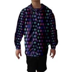 Connected dots                                                                                     Hooded Wind Breaker (Kids)