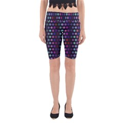 Connected Dots                                                                                     Yoga Cropped Leggings