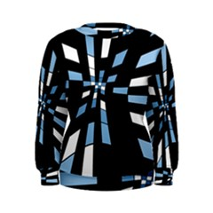Blue abstraction Women s Sweatshirt