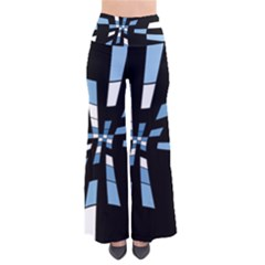 Blue abstraction Pants