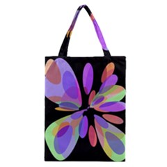 Colorful abstract flower Classic Tote Bag