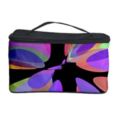 Colorful abstract flower Cosmetic Storage Case