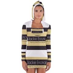 Jackie Encinas Women s Long Sleeve Hooded T-shirt