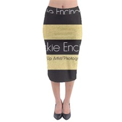 Jackie Encinas Midi Pencil Skirt