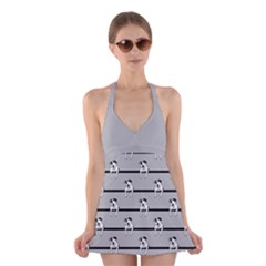 Pit Bull T-Bone Halter Swimsuit Dress