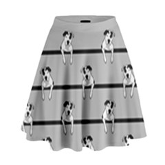 Pit Bull T-Bone High Waist Skirt