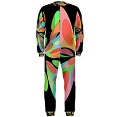 Colorful abstract flower OnePiece Jumpsuit (Men)