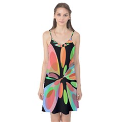 Colorful abstract flower Camis Nightgown