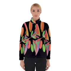 Colorful abstract flower Winterwear