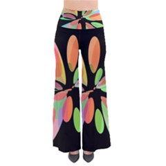 Colorful Abstract Flower Pants