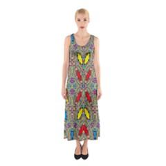 Spice One Sleeveless Maxi Dress