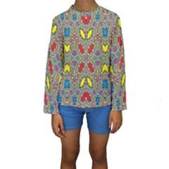 Spice One Kid s Long Sleeve Swimwear