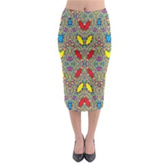 Spice One Midi Pencil Skirt
