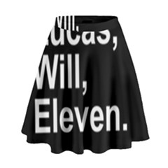 Stranger Things High Waist Skirt