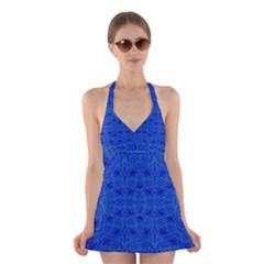 OCEAN SPARK Halter Swimsuit Dress