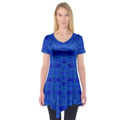 OCEAN SPARK Short Sleeve Tunic