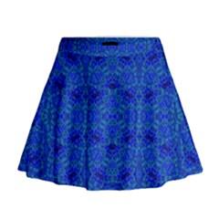OCEAN SPARK Mini Flare Skirt